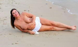 Lisa Appleton mega boobs
