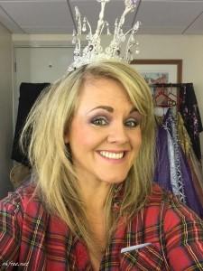 Sally Lindsay selfie leaked