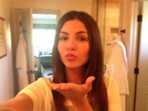 Victoria Justice selfie leaked