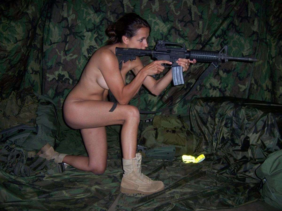 Real army women nude